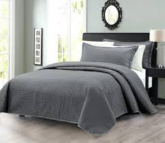 Grey Quilted Coverlet - food-facts.info & ... Grey Quilted Bedspread King Comforter Gray Coverlet Adamdwight.com