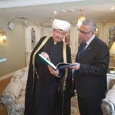 """Mansur Yavaş on Twitter: """"Moskova Merkez Camii'ndeki Cuma namazı sonrası,  Rusya Müslümanları Merkezi İdare Başkanı Ravil Gaynutdin'i ziyaret ettik.  Kendisine göstermiş olduğu misafirperverlik ve bizlerle paylaştığı bilgiler  için teşekkürlerimi ..."""