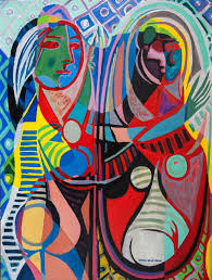 picasso complete works saatchi art girl before a mirror reflections on works by pablo
