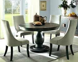 circle dining room table 60 round with leaf