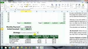 How To Payoff Credit Card Debt Calculator Debt Payoff Spreadsheet Excel And Pay F Debt Calculator Excel