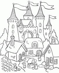 This page contains of house coloring pages and house coloring. Coloring House Of Spring Coloring Page House Coloring Pages Printable Coloring Home