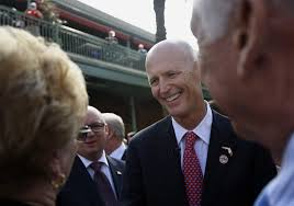 tampa area unemployment falls to % florida leads in job rick scott used the report to trumpet his signature issues of job creation
