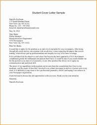 Cover Letter High School Cover Letter Samples High School Student