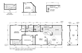 20 foot wide mobile home plans house