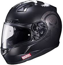 amazon com punisher sport custom motorcycle helmet automotive
