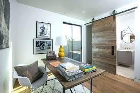office french doors. Office French Doors Home View In Gallery Sliding Barn Door Separates The H