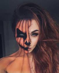 makeup and pumpkin image