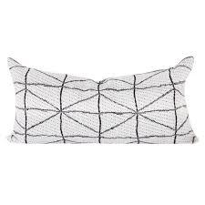 black and white lumbar pillow. Interesting Pillow Vigo Black  Cream Lumbar  A Graphic Black And Creamy White Lumbar To And White Lumbar Pillow