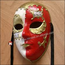 Decorative Face Masks carnival mask Venetian full face maskhand draw 100d venice 2