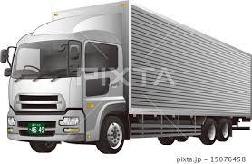 大型トラックのイラスト素材 15076458 Pixta