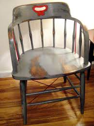 spray painted furniture ideas. Chair Before Refinishing Spray Painted Furniture Ideas W