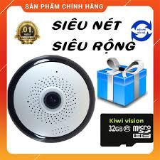 CÓ MẦU BAN ĐÊM TẶNG THẺ NHỚ 32GB] Camera wifi cao cấp ốp trần, ốp tường, Giám  Sát 360 Độ siêu sắc nét