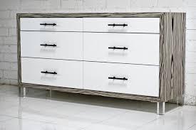 modern white dresser. Contemporary White Koening White Macassar Dresser And Modern N
