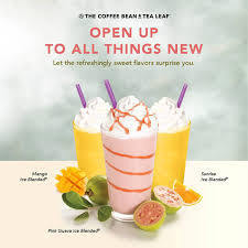 Ready coffee is premium coffee right at your fingertips. Coffee Bean And Tea Leaf Launches The Pink Guava Ice Blended