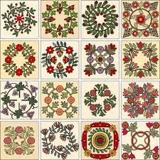 26 best Wreath appliqué blocks images on Pinterest | Appliques ... & Vintage Applique Quilt Patterns | Antique Wreaths Adamdwight.com