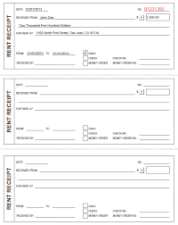 rental receipt pdf printable rent receipt in pdf form