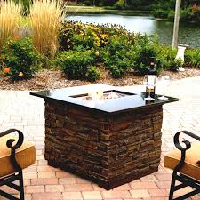 outdoor fire pit glass chips elegant outdoor gas fire pit tables designs glass pits rocks