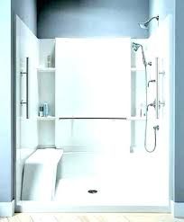 one piece bathtub wall surround panels installing 3 4 tub menards 5 kit kits x