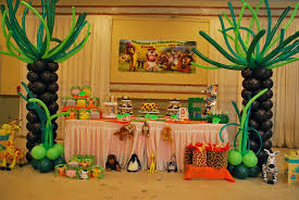 Cuban Party Decorations Madagascar Party Decorations By Teresa