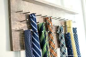 tie rack make your own wood on the wooden hanger tutorial bow tie wooden rack