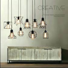 wire cage pendant lighting metal ceiling light hanging wire cage pendant