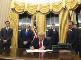 white house oval office. the oval office was redecorated with gold drapes just in time for president trumpu0027s arrival at white house friday