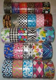 Duct Tape Patterns Magnificent Sports Duct Tape One Roll Of Printed Duck Brand By QuietMischief