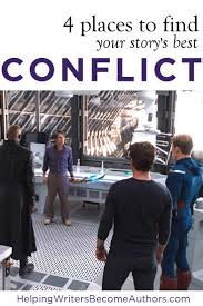 places to your best story conflict helping writers become 4 places to your best story conflict