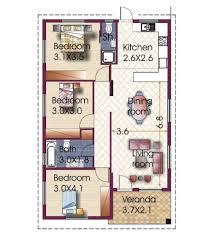 3 bedroom house design in philippines three bungalow plans designs floor plan free downl