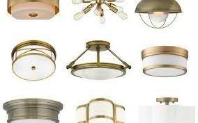 brass ceiling light budget friendly
