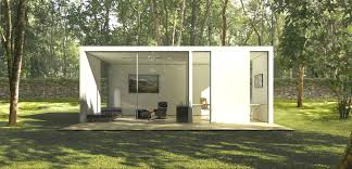 prefab office space. these modern prefab homes were designed by computer algorithms office space 2