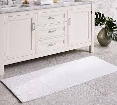 bath rugs pb classic bath rug double wide pottery barn peanvhc