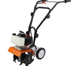best garden tiller. 52cc Garden Mini Tiller 3HP Petrol Power Soil Cultivator 2-Stroke Engine Tool Best