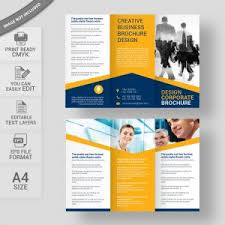 Free Brochure Layouts Free Brochure Design Download For Commercial Use Wisxi Com