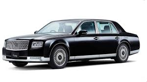 What's special about the Japan-only Toyota Century luxury sedan