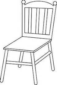 chair clipart. chair clip art black and white, line clipart