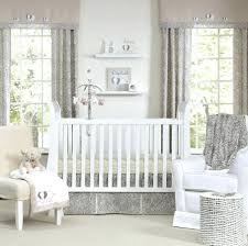 pottery barn boy crib bedding nursery decorating lovely grey with idea involving modern baby