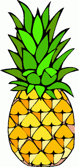 pineapple slice clipart. pineapple clipart black and white free 2 slice