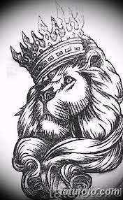 эскиз льва для тату на руку 08032019 005 Tattoo On Hand