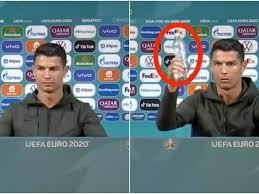 Cristiano Ronaldo ha fatto perdere a Coca Cola 4 miliardi di Dollari in  poche ore