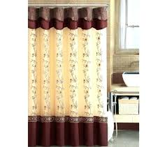 avanti shower curtains shower curtain with attached valance double swag shower curtain attached valance with in avanti shower curtains