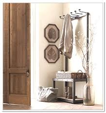 Metal Entryway Bench With Coat Rack Entryway Bench And Coat Rack Beautiful Metal Entryway Storage Bench 65