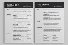 6 Microsoft Excel Resume Templates Cover Note Template And Bu Sevte