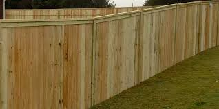 wood privacy fences are an affordable way to add privacy to your yard