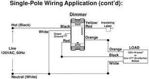 solved i would like to install a lutron 3 way dimmer fixya Lutron Dimmer Ballast Wiring Diagram dimmer yellow red is not used except for 3 way switch \u003e\u003e cap it off with wire nut dimmer orange wire connects to ballast dimmed hot lutron ecosystem dimming ballast wiring diagram