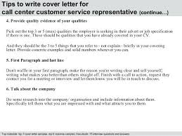 Customer Service Representative Cover Letter Member Service