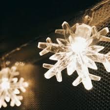 Glimmering Snowflake String Lights - essential.merch \u2013 essential merch
