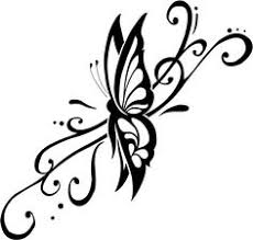 Small Picture Butterfly is a girly girly tattoo and can be made in many shapes