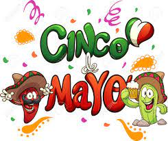 Cartoon Cinco De Mayo Text Clip Art ...